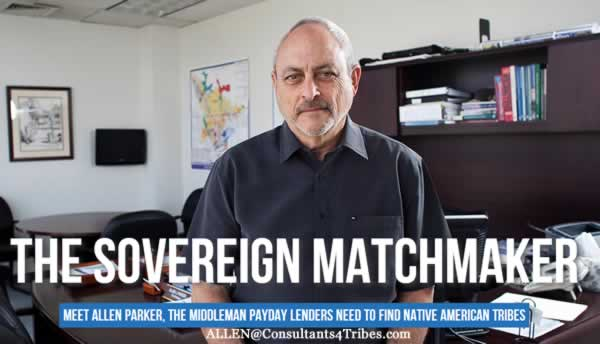 Allen Parker: Sovereign Matchmaker for Tribe Lending