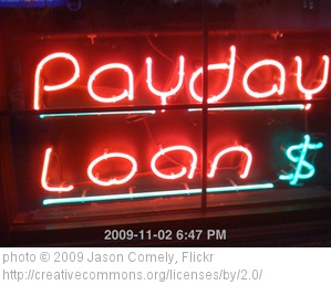 Payday Loan Store Neon Sign