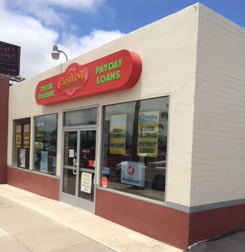 San Diego Payday Loan Store for Sale