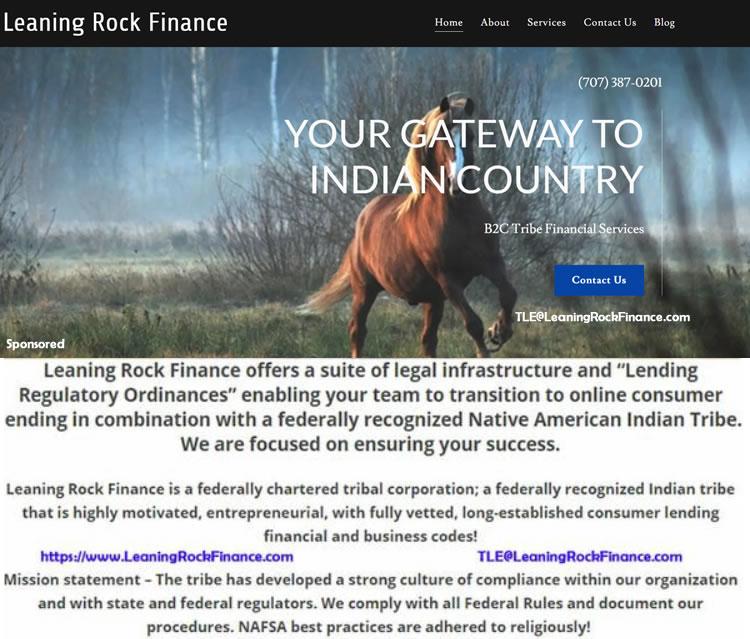 Tribal Lending TLE Personal Loans